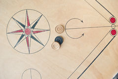 Carrom board Royalty Free Stock Images