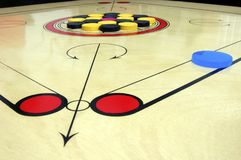 Carrom board game Royalty Free Stock Images