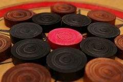 Carrom board Stock Image