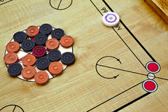 Carrom game Royalty Free Stock Photo