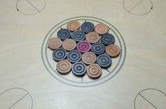Carrom Royalty Free Stock Images