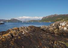 Carron τοπίο λιμνών, Χάιλαντς της Σκωτίας Στοκ φωτογραφίες με δικαίωμα ελεύθερης χρήσης
