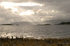 carron fjord Arkivbild