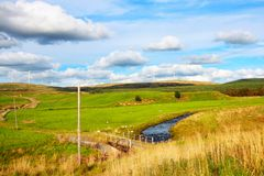 Carron Valley, Campsie Hills, Scotland, UK Stock Images