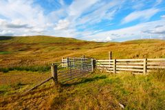 Carron Valley, Campsie Hills, Scotland, UK Royalty Free Stock Photography