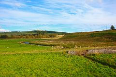 Carron Valley, Campsy Hills, Scotland, UK Royalty Free Stock Images
