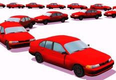 Carros Fotografia de Stock Royalty Free