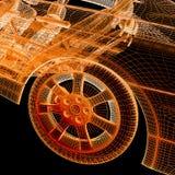 carros 3d modelo Imagem de Stock