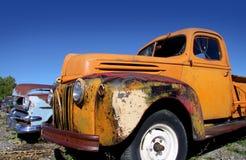 Carros abandonados velhos imagem de stock royalty free