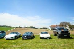 Carros americanos Foto de Stock