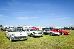 Carros americanos Foto de Stock Royalty Free