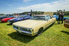 Carros americanos Imagens de Stock Royalty Free