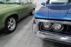 Carros americanos clássicos Imagem de Stock Royalty Free