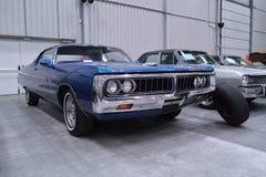Carros americanos clássicos Foto de Stock