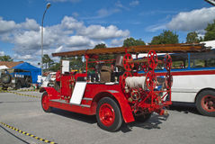 Carros americanos clássicos (fredriksten a fortaleza em hal Fotografia de Stock Royalty Free
