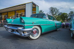 Carros americanos clássicos Fotografia de Stock Royalty Free