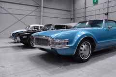 Carros americanos clássicos Fotos de Stock Royalty Free