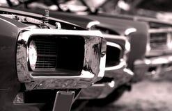 Carros americanos do músculo Imagens de Stock