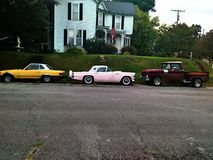 Carros antigos Imagens de Stock Royalty Free