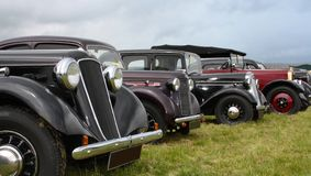 Carros clássicos Imagens de Stock Royalty Free