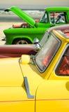 Carros coloridos de Rod quente Fotografia de Stock Royalty Free