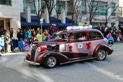 Carros como pacotes Fotografia de Stock Royalty Free