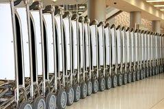 Carros da bagagem foto de stock royalty free