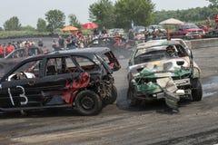 Carros da demolição Fotos de Stock