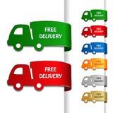 Carros da entrega livre Fotografia de Stock
