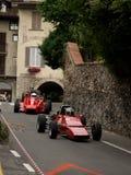 Carros da fórmula 2 em Bergamo Prix grande histórico 2015 Imagem de Stock