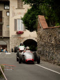 Carros da fórmula 2 em Bergamo Prix grande histórico 2015 Foto de Stock