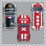 Carros da finalidade especial Imagem de Stock Royalty Free