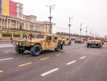 Carros da infantaria do deserto do combate Imagem de Stock Royalty Free