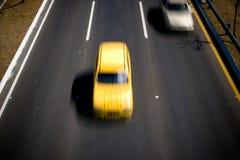 Carros da velocidade Fotografia de Stock Royalty Free