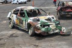 Carros danificados Foto de Stock