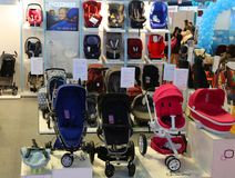 Carros de bebé Imagen de archivo libre de regalías
