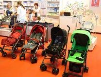 Carros de bebé Fotos de archivo