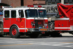 Carros de bombeiros fotografia de stock royalty free