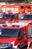 Carros de bombeiros Fotos de Stock