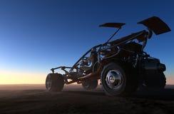 Carros de competência Imagens de Stock
