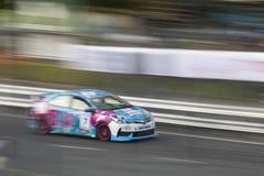 Carros de competência no Motorsport de Toyota imagem de stock