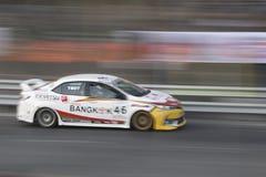 Carros de competência no Motorsport de Toyota foto de stock royalty free
