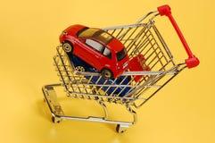 Carros de compra Fotos de Stock Royalty Free