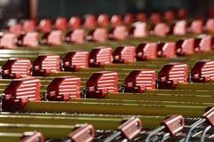 Carros de compra Fotografia de Stock