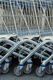 Carros de compras Imagen de archivo