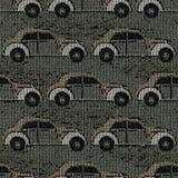 Carros de confecção de malhas Fotografia de Stock Royalty Free