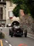 Carros de corridas clássicos em Bergamo Prix grande histórico 2015 Foto de Stock Royalty Free