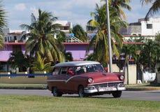 Carros de Cuba Fotografia de Stock Royalty Free