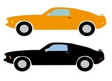 Carros de esportes ilustração stock
