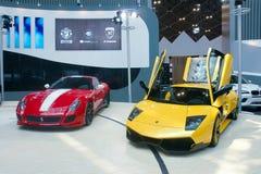 Carros de esportes Foto de Stock Royalty Free